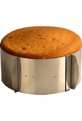 Dekamis Yuvarlak Ayarlanabilir Kek Kalıbı (Ayarlı Çember)