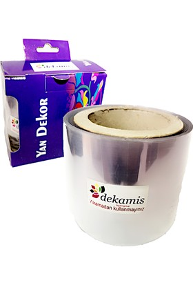Dekamis Pasta Şeffaf Yan Dekor