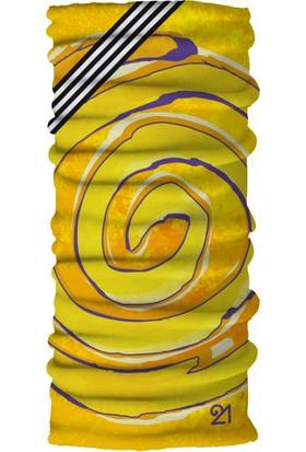 Fit21 Sarı İnce Bandana