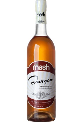 Mash Tarçın Cinnamon Aromalı Kokteyl Şurup 70 cl