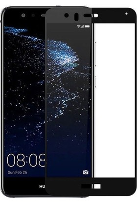 Gpack Huawei P10 Lite Full Kapatan Renkli Cam Siyah
