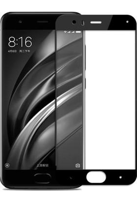 Gpack Xiaomi Mi 6 Full Kapatan Renkli Cam Siyah