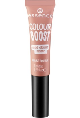 Essence Colour Boost Boost Mad About Matte Liquid lipstick - Likit Mat Ruj No: 02 8 ml