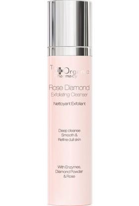 The Organic Pharmacy Rose Diamond Exfoliating Cleanser - Anti Aging Temizleme Jeli 120 ml