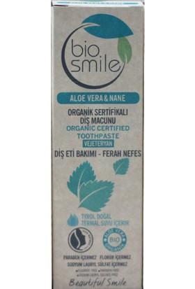 Biosmile Organik Diş Macunu Aloe Vera & Nane Aromalı 50 ml