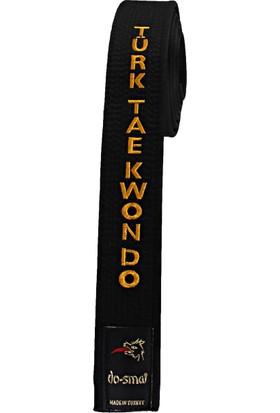 Do-Smai Taekwondo Nakışlı Siyah Kuşak KU-256