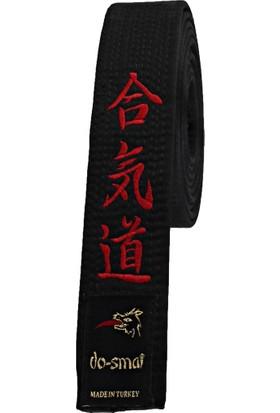 Do-Smai Aikido Nakışlı Siyah Kuşak AK-258