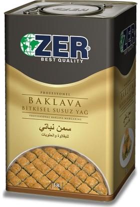 Zer Z-80 Baklavalık Margarin 18 lt x 1 Teneke Kutu