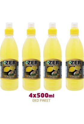 Zer Limon Sosu 500 ml x 4 Pet Şişe