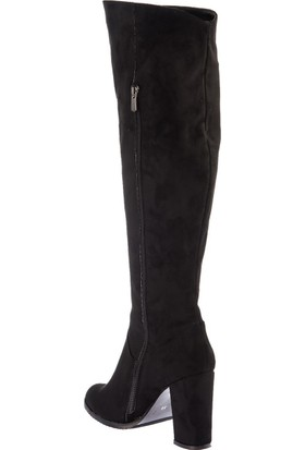 Fox Shoes Siyah Kadın Çizme A654018002