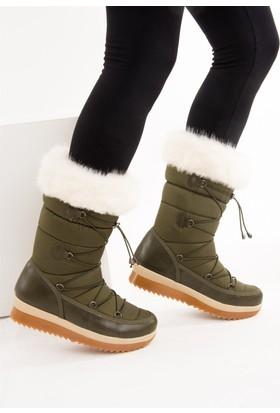 Fox Shoes Haki Kadın Bot C476024604