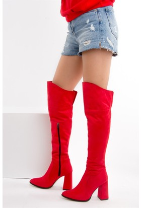 Fox Shoes Kırmızı Kadın Çizme E758895602