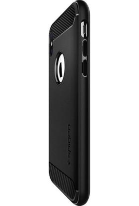 Spigen Apple iPhone XS Max Kılıf Rugged Armor Matte Black - 065CS25125