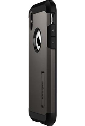 Spigen Apple iPhone XS Max Kılıf Tough Armor Gunmetal - 065CS25131