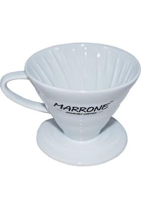 Marrone V60 02 Model Seramik Kahve Demleme Aparatı