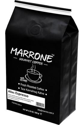 Alles Espresso Nitelikli Taze Kavrulmuş Espresso Kahve Harmanı 250 gr