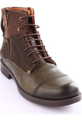 Free Foot 8574-1 Erkek Timberland Bot Yeşil