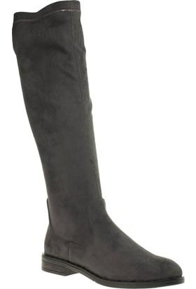 Stella 19135 Likra Binici Gri Kadın Çizme