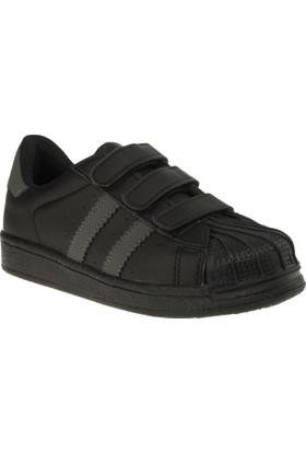Flubber 23512 Süper Siyah Çocuk Spor Ayakkabı