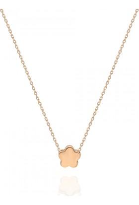 Pink Gold Store Sweet Stars Kolye TA7916 Pembe Altın