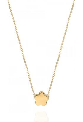 Pink Gold Store Sweet Stars Kolye TA7917 Sarı Altın