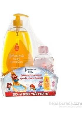 Johnsons Baby 3'lü Bebek Koruması 750 ml Şampuan Ve Bebek Yağı 200 ml