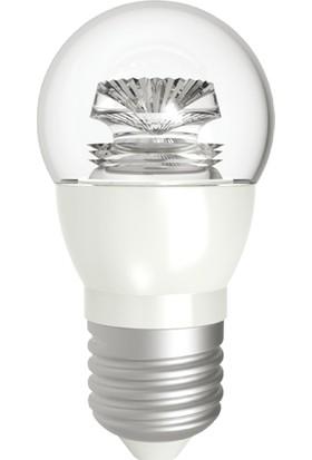 Lamptime 5w e-27 Duy 3000k Gunışığı Işık Şeffaf Top Led Ampul 301308