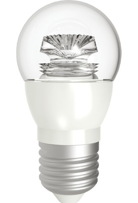 Lamptime 5w e-27 Duy 6500k Beyaz Işık Şeffaf Top Led Ampul 301608