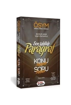 Metin Yayınları Yayınları Son Tahlilde Paragraf Konu Anlatımlı Soru Bankası