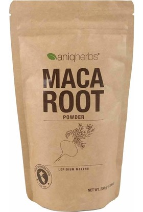 AniqHerbs Maca Root - Maca Tozu 200 gr