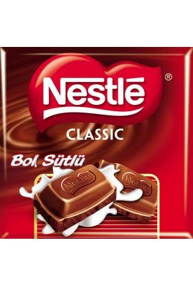 Nestle Classic Bol Sütlü Kare Çikolata 80 gr