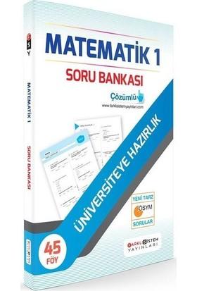 Farklı Sistem Yayınları TYT Matematik 1 Soru Bankası