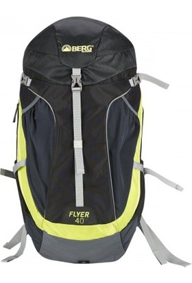 Berg Flyer Trekking Sırt Çantası 40 Lt Siyah Gri