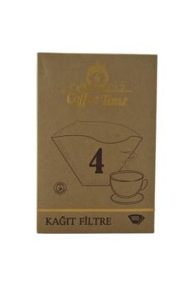 Coffee Time 1X4 Kahve Filtre Kağıdı 100'Lü Paket