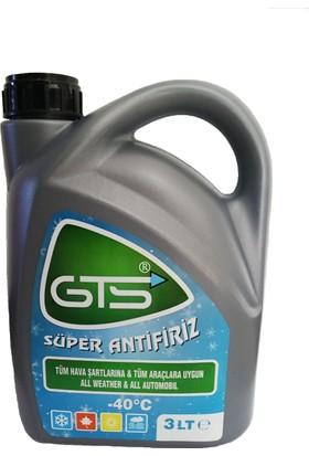 Gts G12 Organik Yeşil Antifiriz -40C 3 Litre