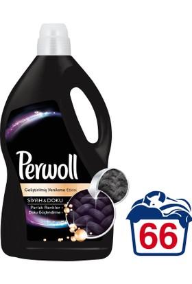 Perwoll Yenilenen Siyahlar Hassas Çamaşır Deterjanı 4 lt 66 Yıkama