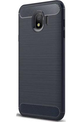 CoverZone Samsung Galaxy J4 Kılıf Room Silikon Kapak Lacivert