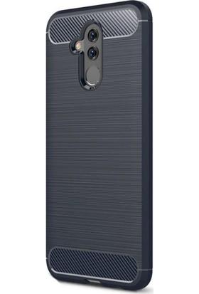 KNY Huawei Mate 20 Lite Kılıf Ultra Korumalı Room Silikon + Cam Ekran Koruyucu