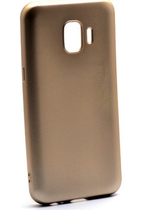KNY Samsung Galaxy J2 Core Kılıf Ultra İnce Mat Silikon + Cam Ekran Koruyucu