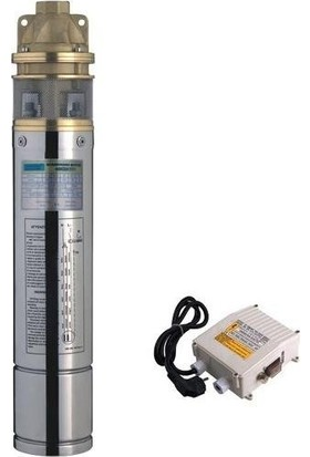 İmpo 4Skm100 4'' Preferikal Tek Kademeli Dalgıç Pompa 15 Metre Kablo Ve Pano 1 Hp 55 Mss