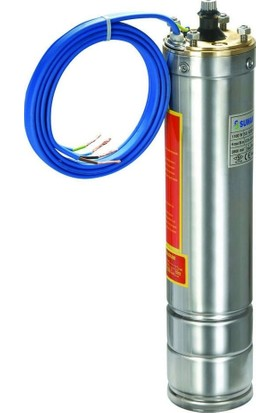 Sumak 4Sm15 4'' Dalgıç Pompa Motoru Monofaze (220V) 1.5Hp