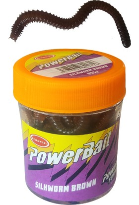 Bestway Power Bait 9952 Silkworm Brown Kurt