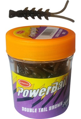 Bestway Power Bait 9957 Double Tail Brown Kurt