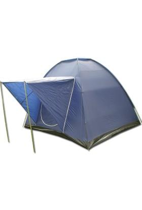Savage Ys-127 4 Kişilik P Yüksek Koyumavi Dome Çadır+Balkonlu (240*210*180)