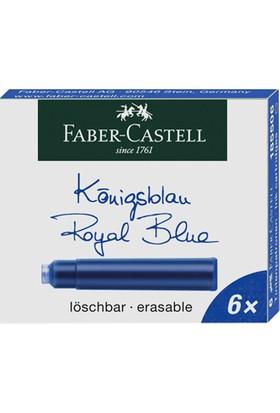 Faber-Castell Dk Kartuş Royal Mavi 6'Lı