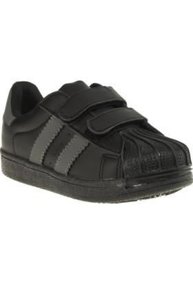 Flubber 23262 Süper Siyah Çocuk Spor Ayakkabı