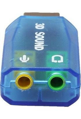 Unico 34216 USB Ses Kartı Mavi