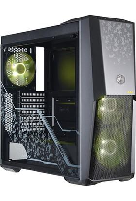 Cooler Master MasterBox MB500 TUF Edition 3x120mm RGB Led Fanlı Pencereli MidTower Kasa (MCB-B500D-KGNN-TUF)