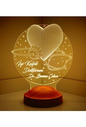3 Boyutlu İyi Kalpli Doktorum LED Lamba