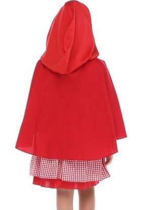 Tülü Akkoç Kırmızı Başlıklı Kız Kostümü